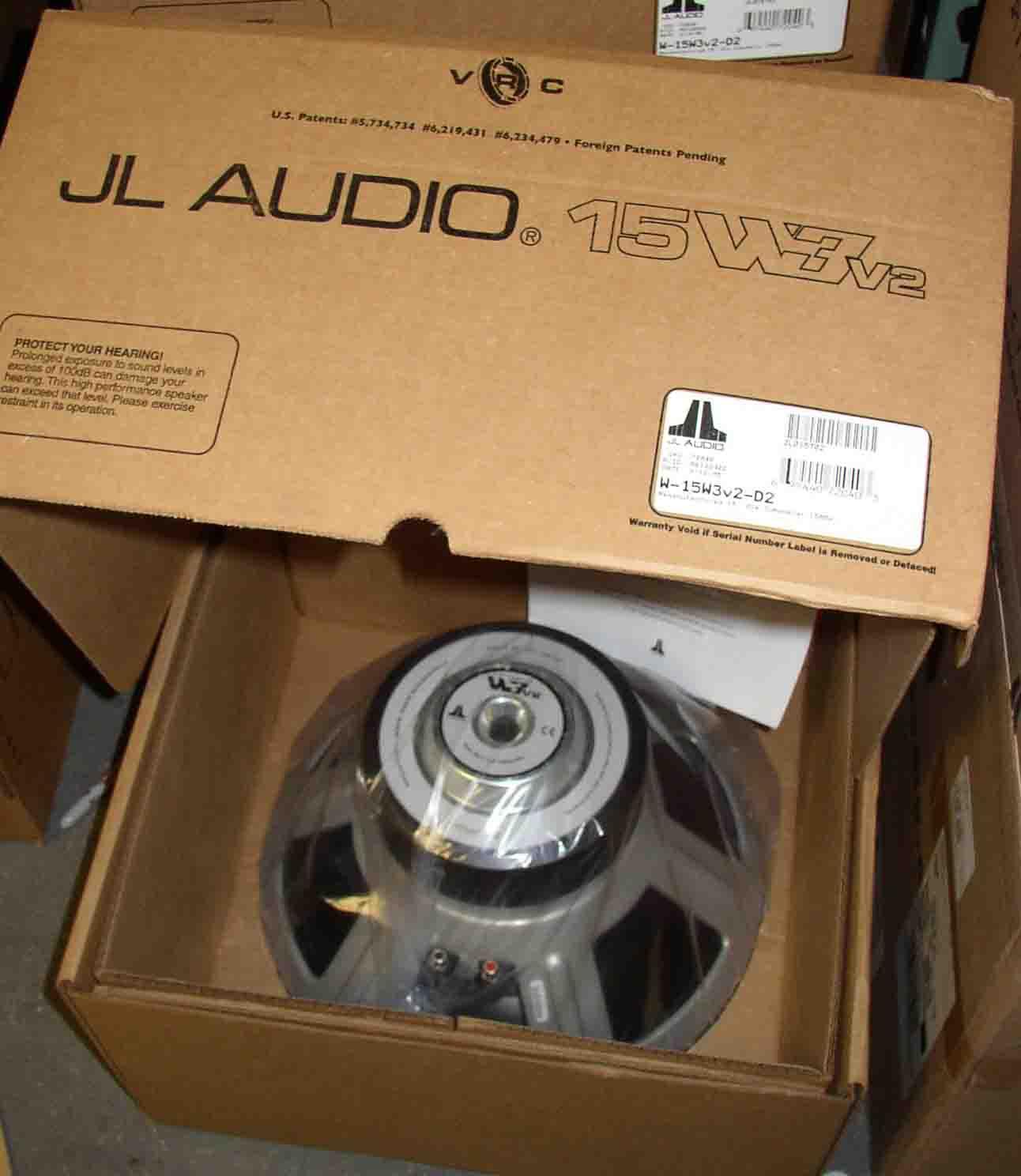 Jl Audio W3 Lookup Beforebuying Amp Wiring Schematics 10w3v2 15 Inch Subwoofer