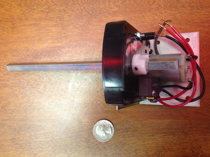 Accele ae 8631 motorized rotary linear actuator 12v door for 12 volt door opener