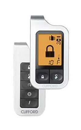 clifford matrix remote car start w alarm and. Black Bedroom Furniture Sets. Home Design Ideas