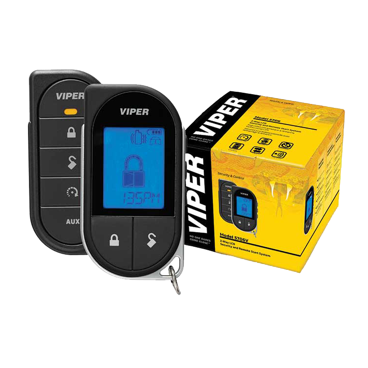 viper 5706v 2 way lcd remote starter car alarm w dball2 bypass interface ebay. Black Bedroom Furniture Sets. Home Design Ideas