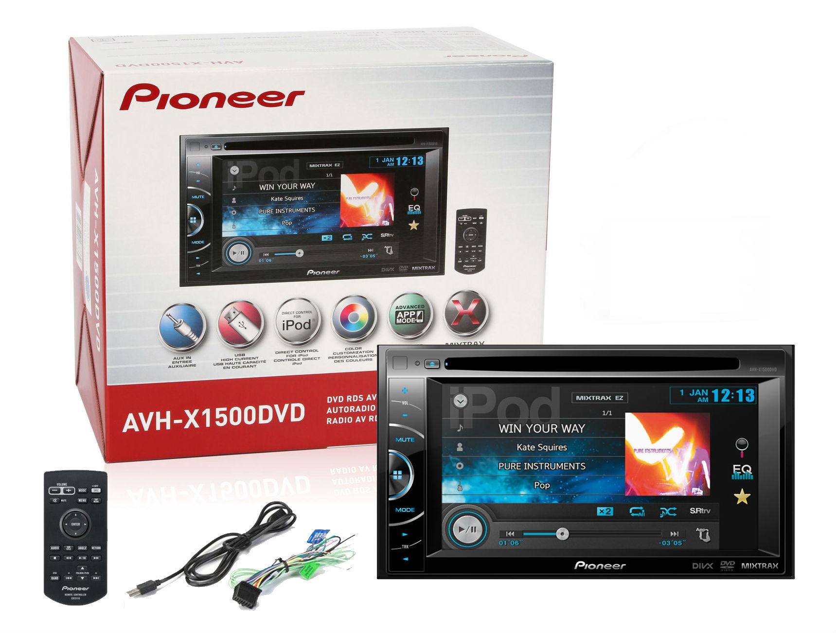 pioneer avh p2300dvd wiring harness pioneer avh