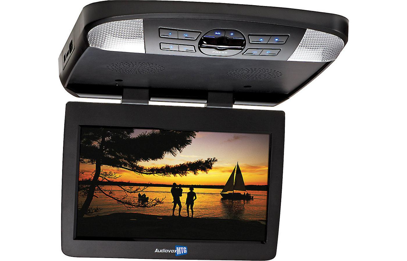 13 3 overhead video monitor w built in dvd player hdmi. Black Bedroom Furniture Sets. Home Design Ideas