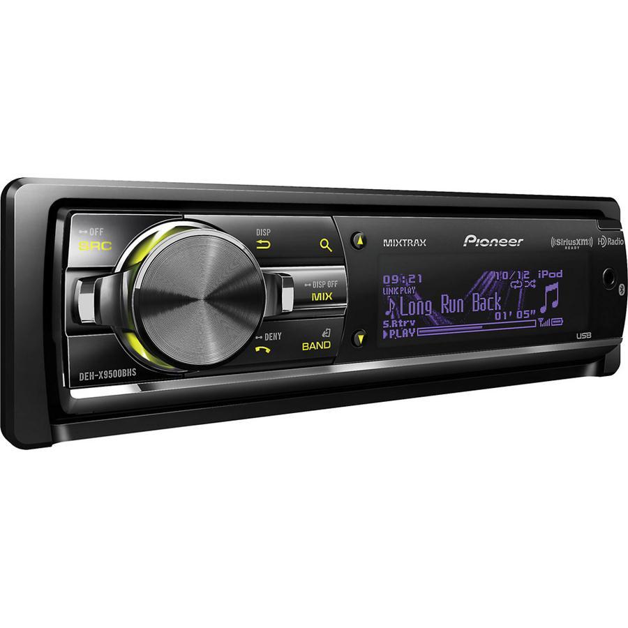 pioneer deh x9500bhs car cd receiver built in bluetooth hd. Black Bedroom Furniture Sets. Home Design Ideas