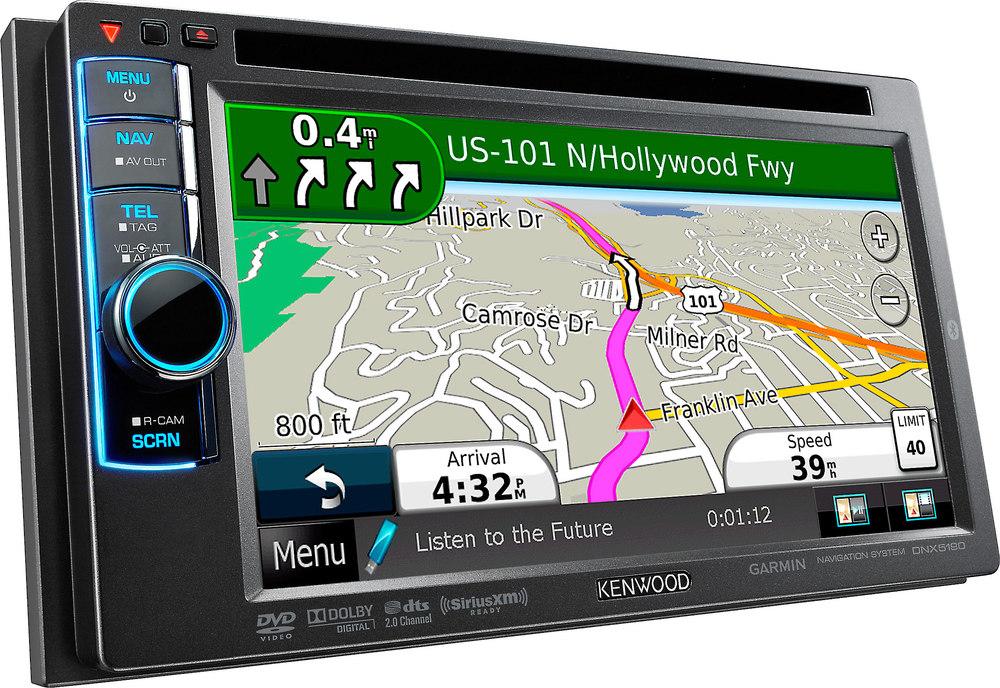 Kenwood Navigation System Car Speakers Audio System