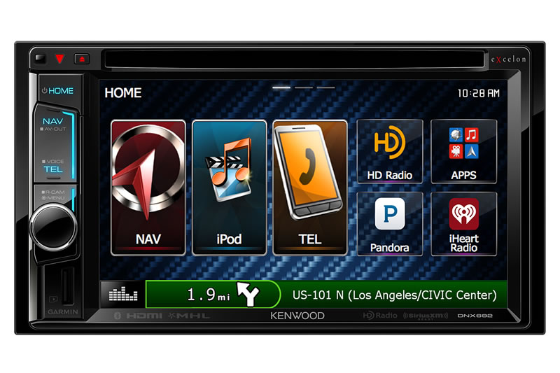 kenwood dnx692 double din audio video navigation system w. Black Bedroom Furniture Sets. Home Design Ideas