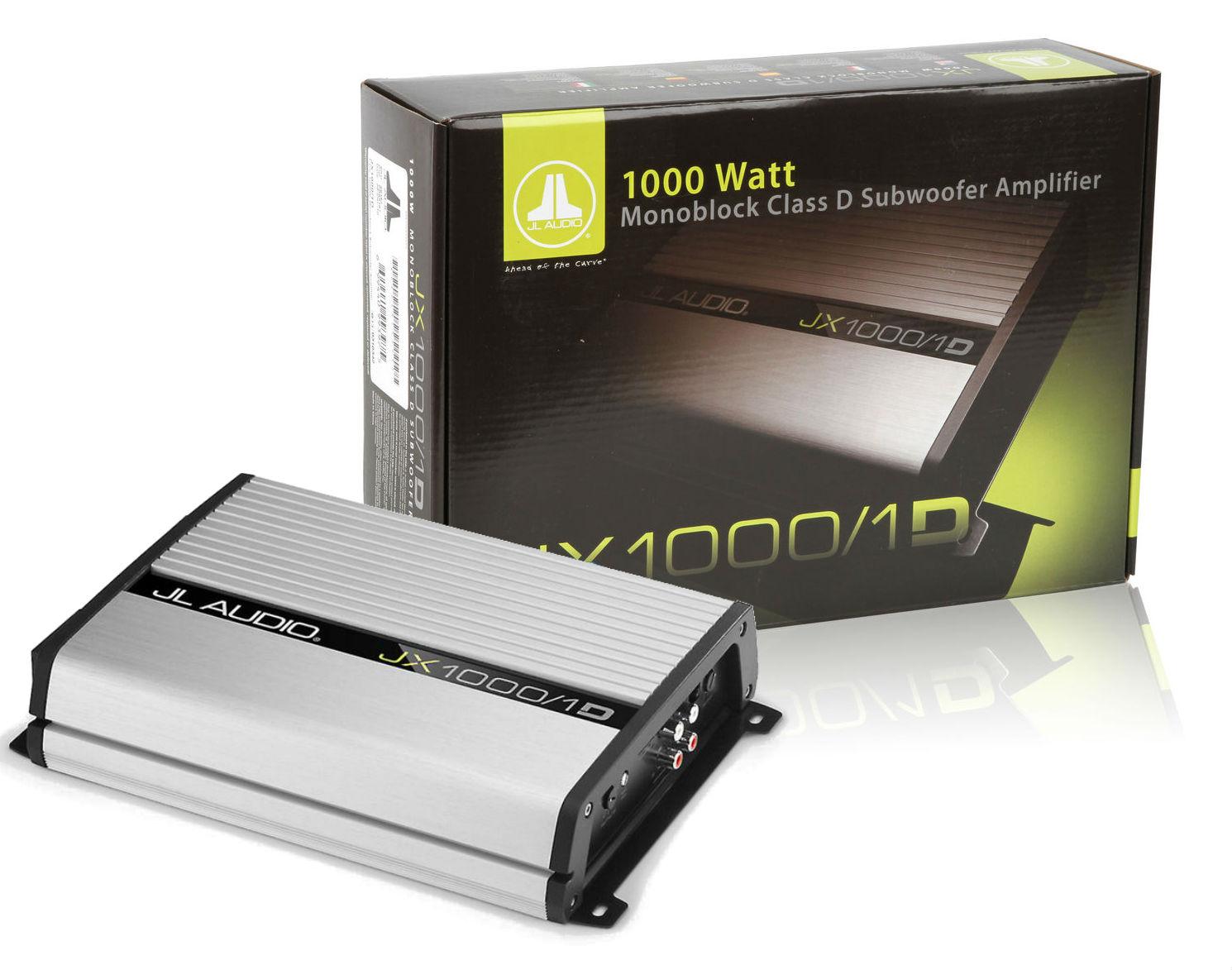 Jl Audio Jx1000  1d Monoblock Mono Car Amplifier Jx10001d