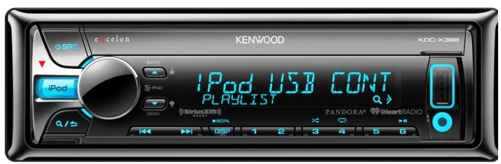 Car cd player with usb