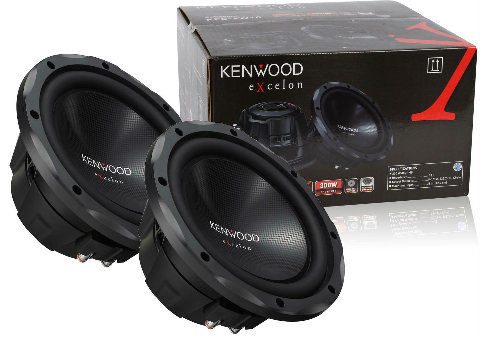 "KFC-W112S - Kenwood 12"" 800W Component Subwoofer 