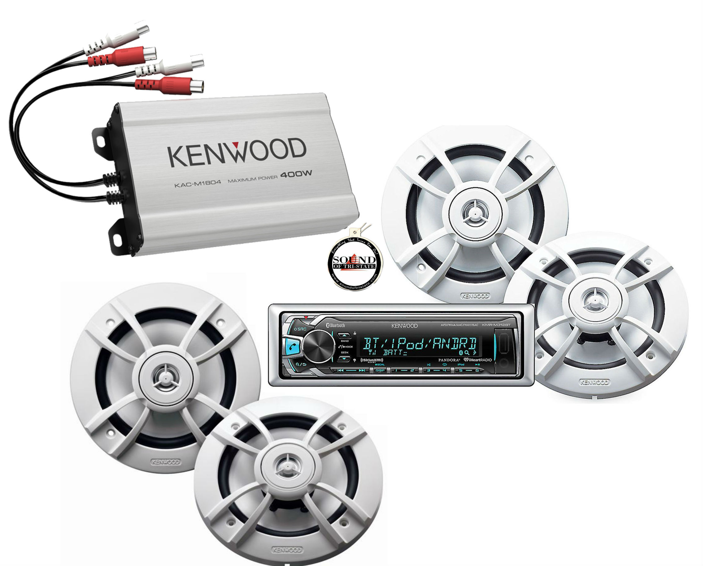 Kenwood Marine Amplifiers at m