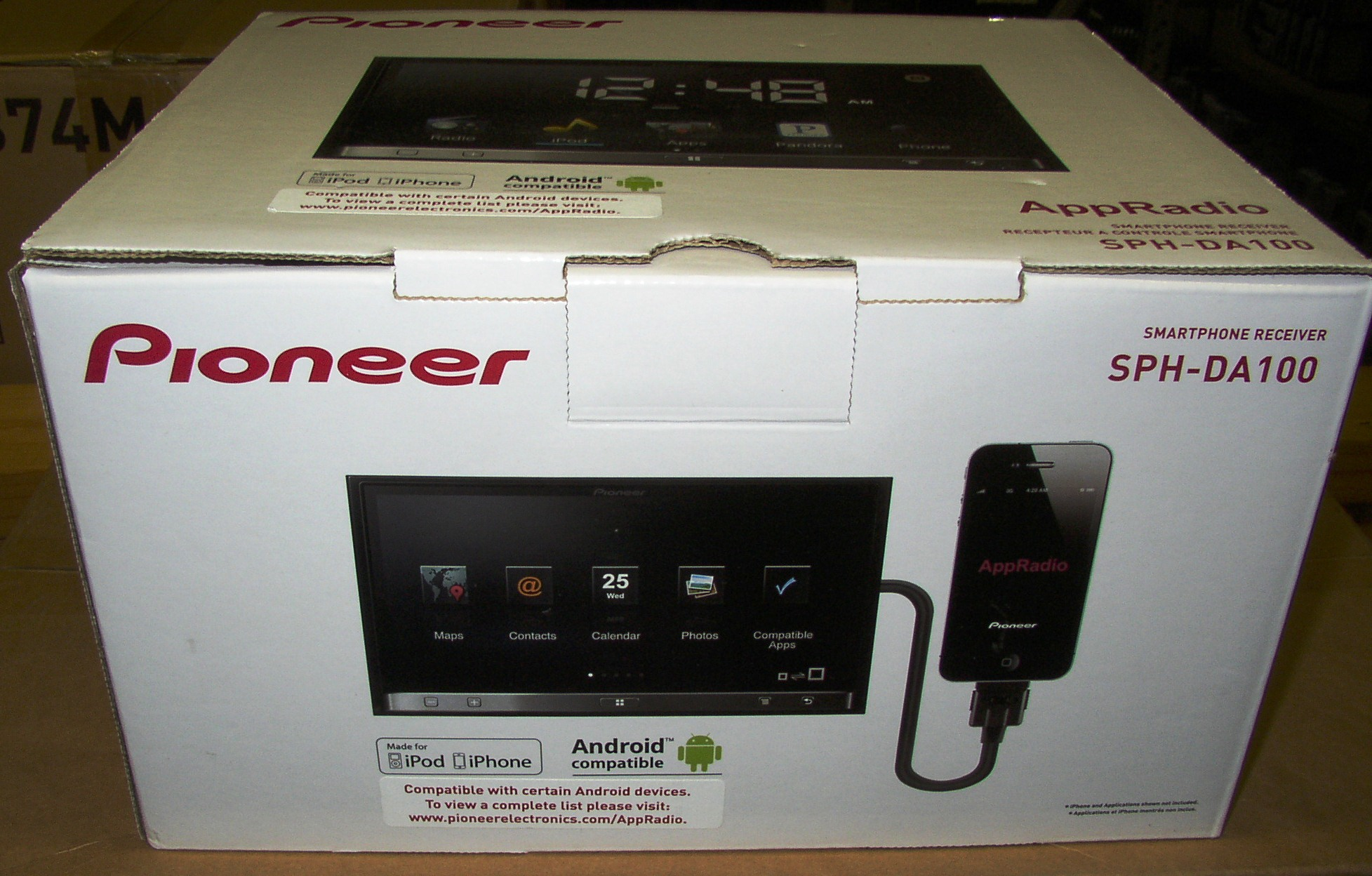 Pioneer Sph 4s And Android