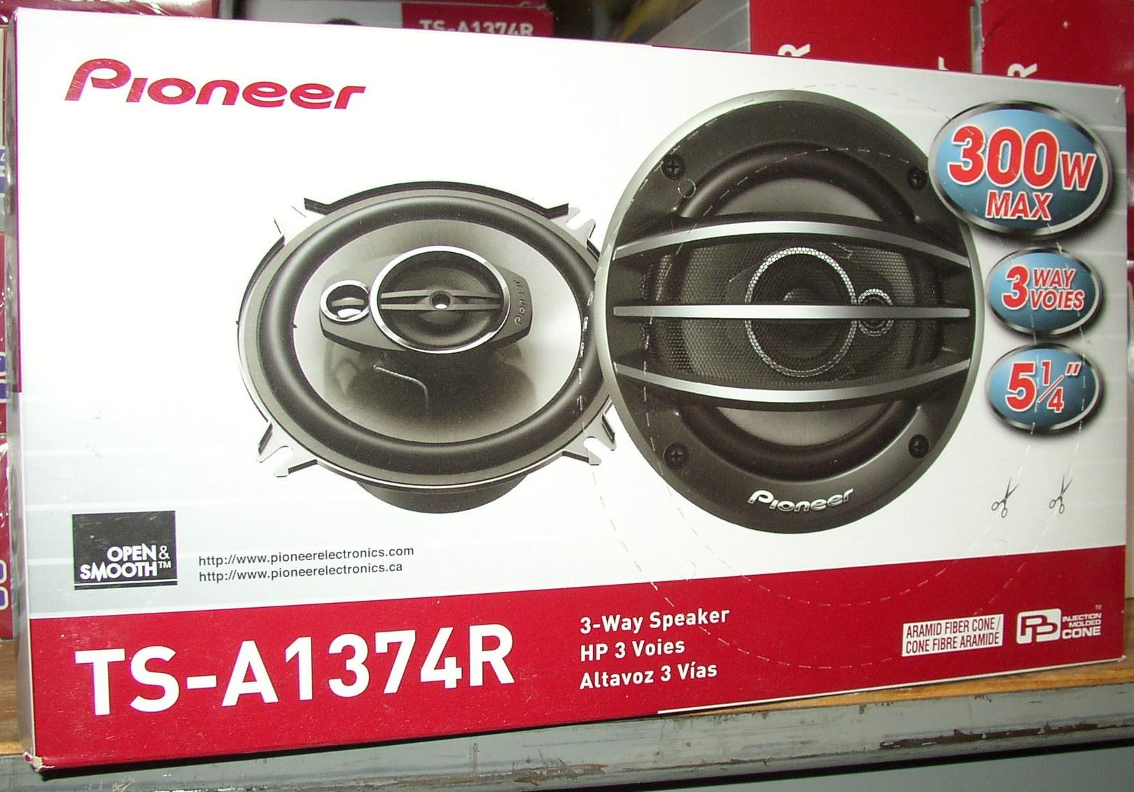 Pioneer way speakers