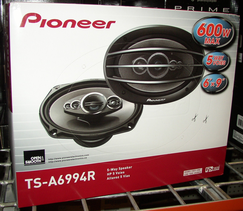 Pioneer car speakers 6x9