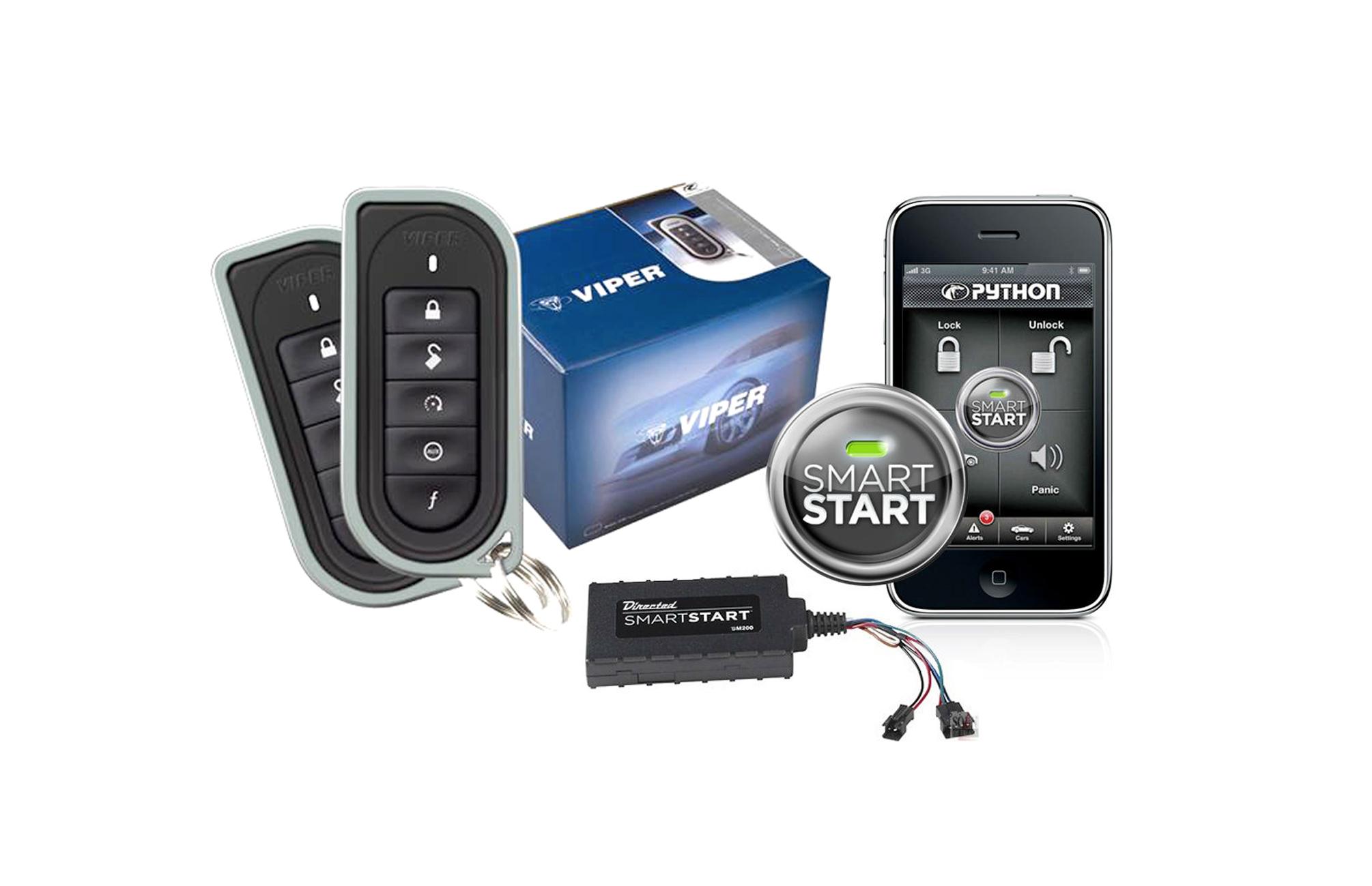 Viper 5101 Remote Car Starter 4102V W/ DSM200 Smart Start