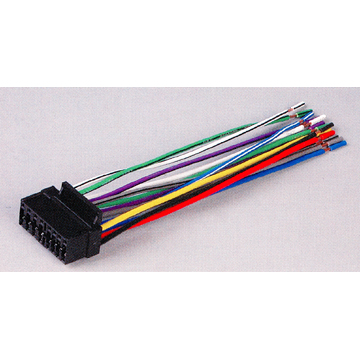 wire harness for sony radios stereos 16 pin new aks16h description 16 pin wire harness