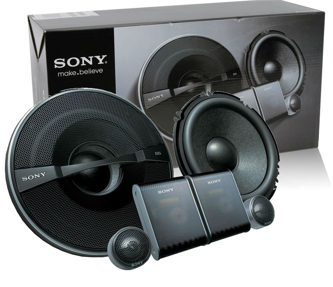 Sony XS GS1720S 6 1 2 Component Car Speaker System New ...