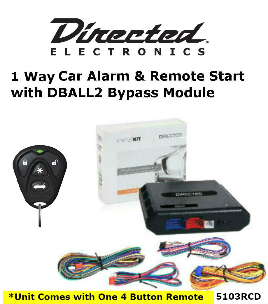 Directed 5103r Security  U0026 Remote Start W   Dball2 Bypass