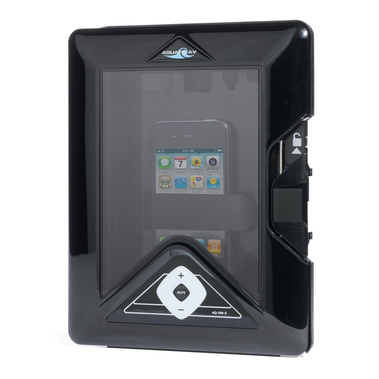 Aquatic AV AQ-DM-5UBT Digital Media Locker Waterproof Marine Stereo ...