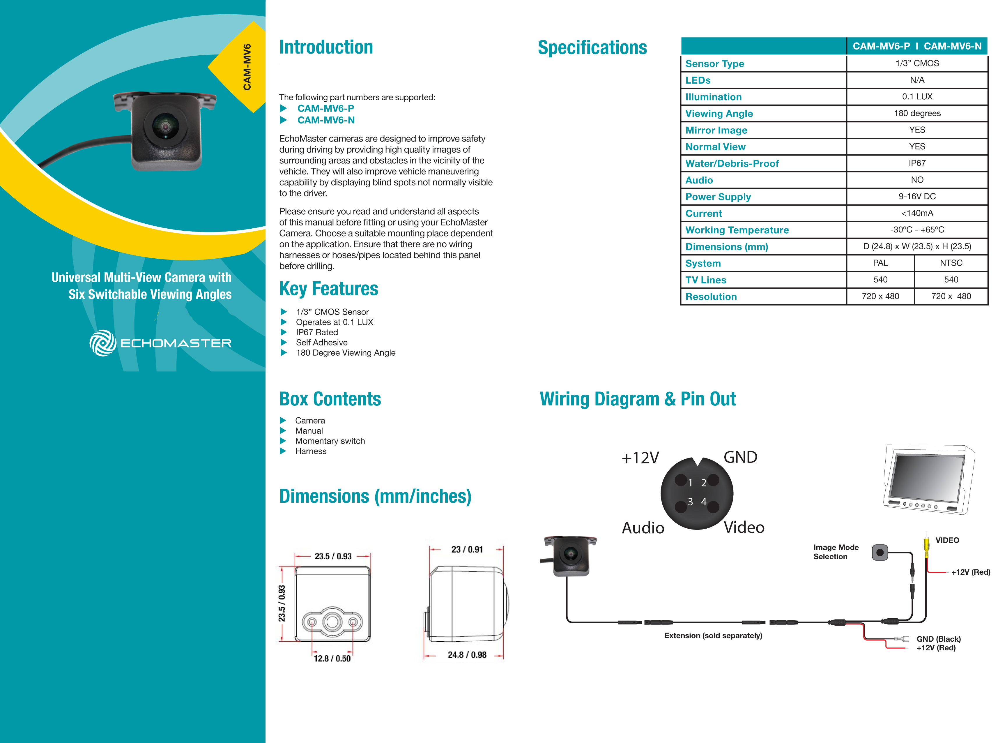 Echomaster Backup Camera Wiring Diagram from www.soundoftristate.com