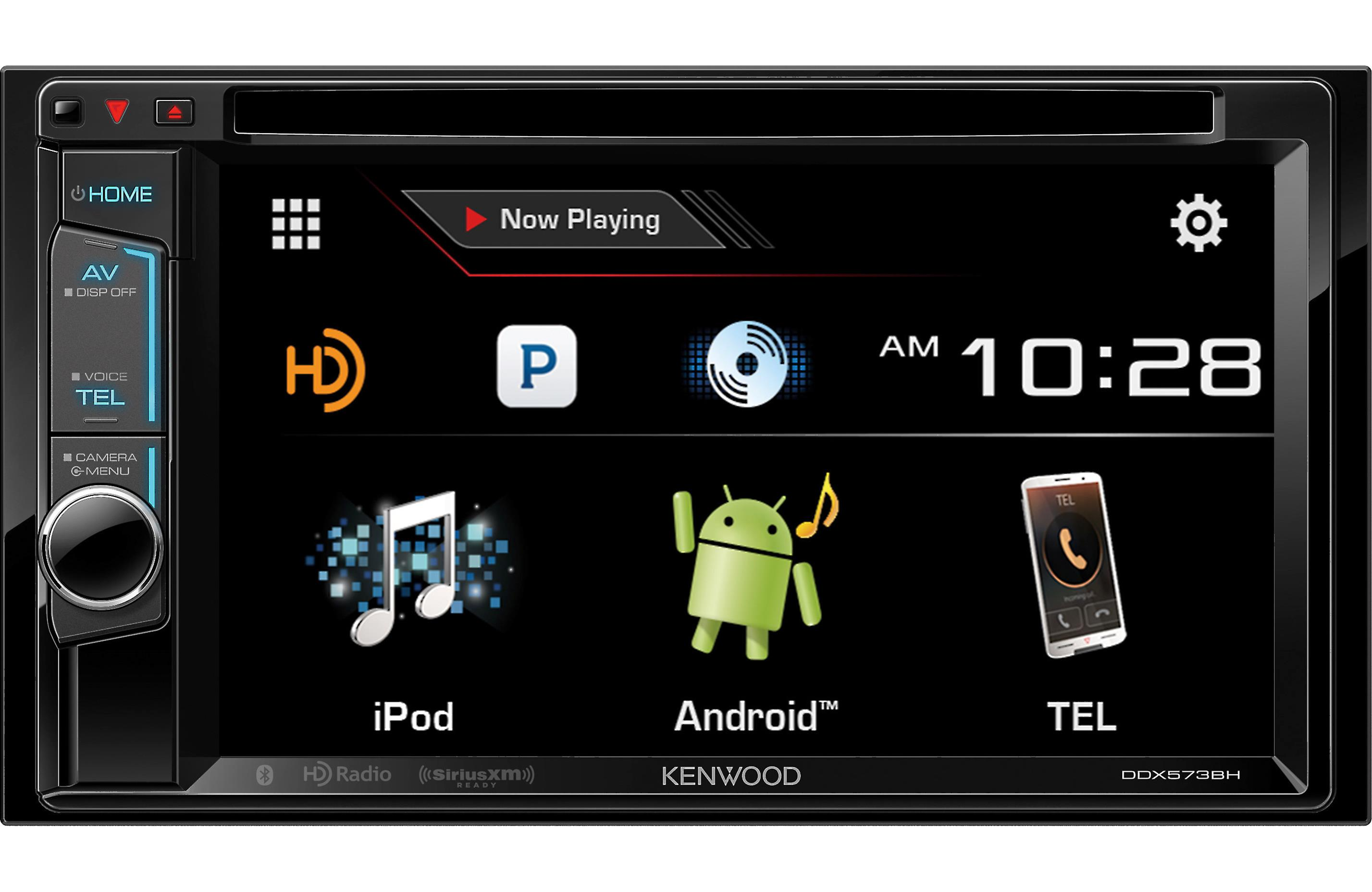 Details about Kenwood DDX574BH DVD/CD Player Android iPhone App HD Radio  Bluetooth SiriusXM